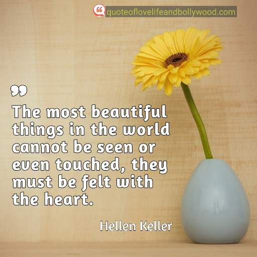 Life quotes by Hellen Keller