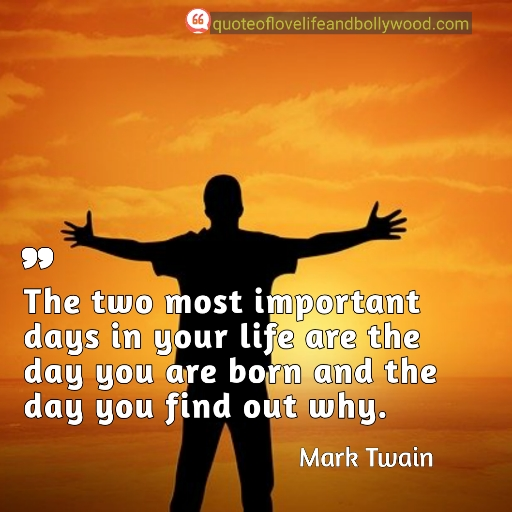 Life quotes by mark twain